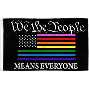Other - LGBT We the People American Flag